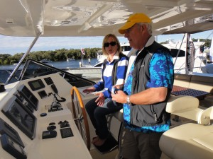 Power boat tuition Southern Cross Yachting