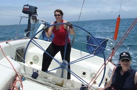 Ladies sailing Southern Cross Yachting