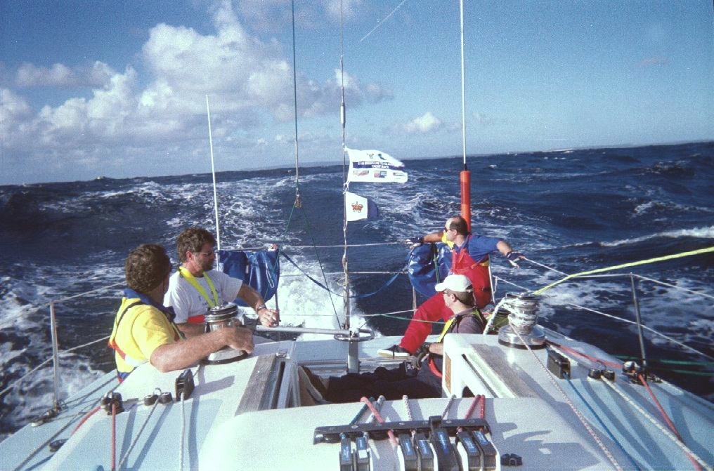 Gladstone Race Southern Cross Yachting Oceans